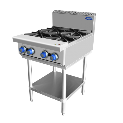 COOKRITE GAS 4 BURNER COOKTOP ON STAND