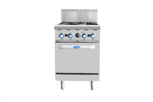 COOKRITE GAS 4 BURNER STOVE WITH OVEN