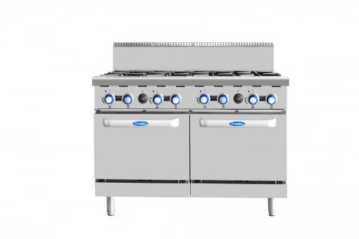 COOKRITE GAS 8 BURNER STOVE WITH DOUBLE OVEN