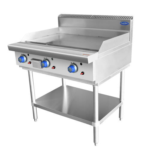 COOKRITE GAS 900mm HOTPLATE ON STAND