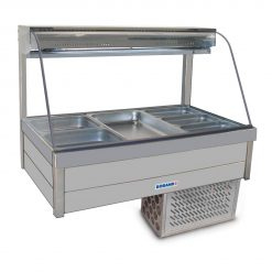 Roband Curved glass Cold bar