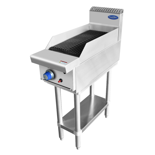 COOKRITE GAS 300mm CHARGRILL WITH STAND