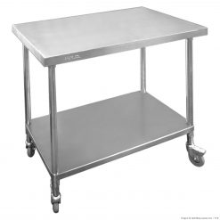 Mobile Workbench With Castors